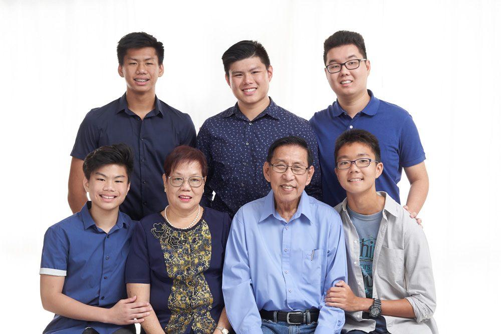 Studio Family Portrait Singapore