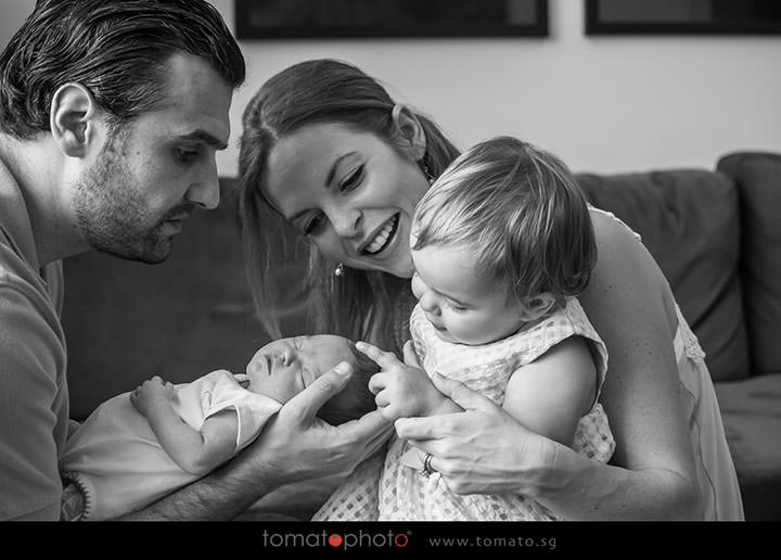 Newborn Photoshoot Connection