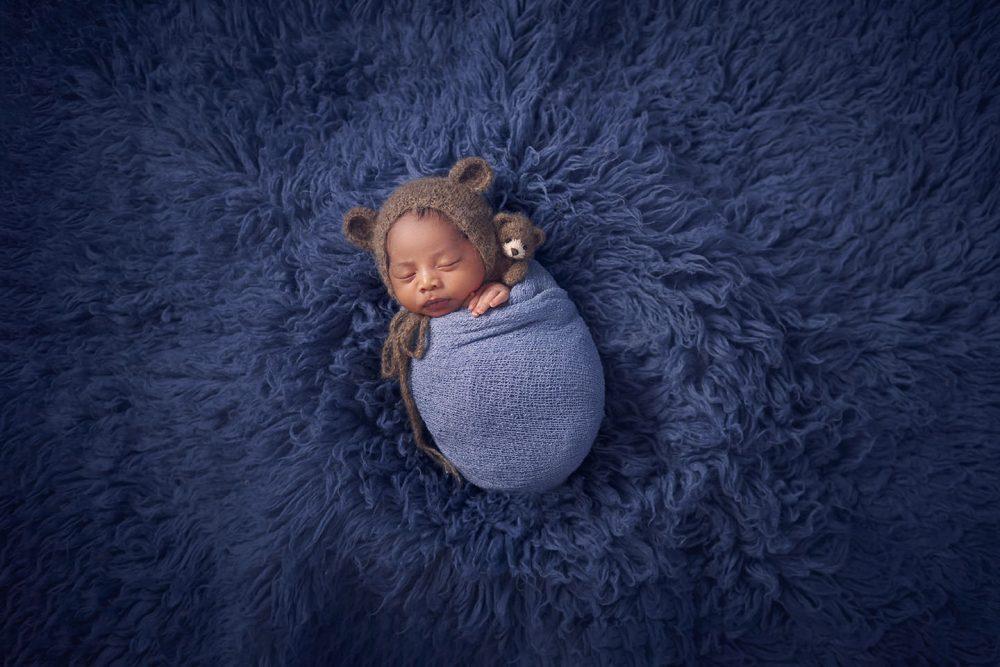 Cute newborn photoshoot