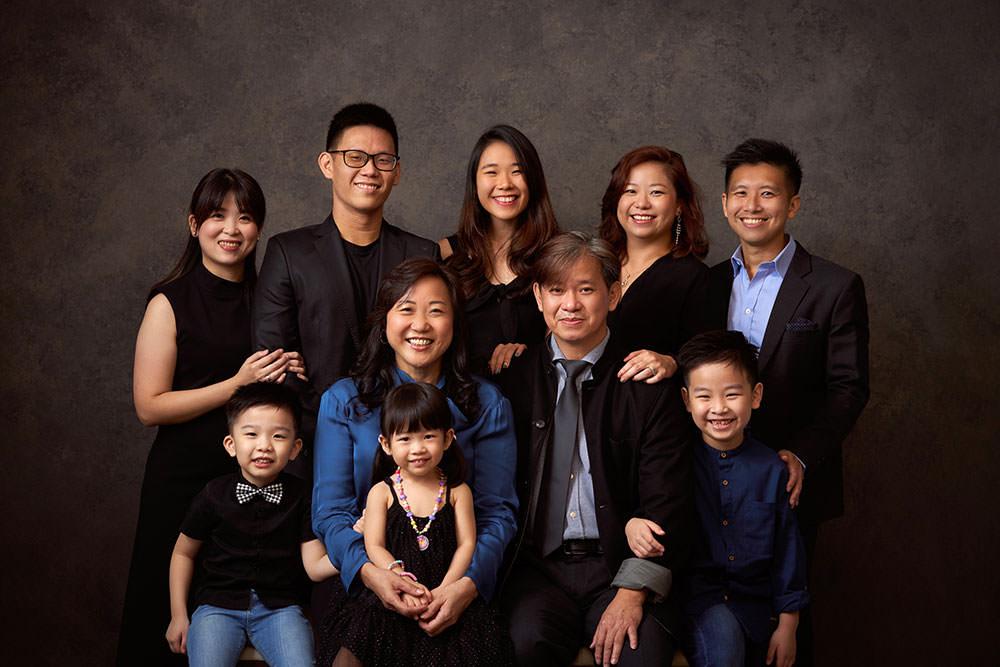 Multi Generation Photo Shoot Singapore