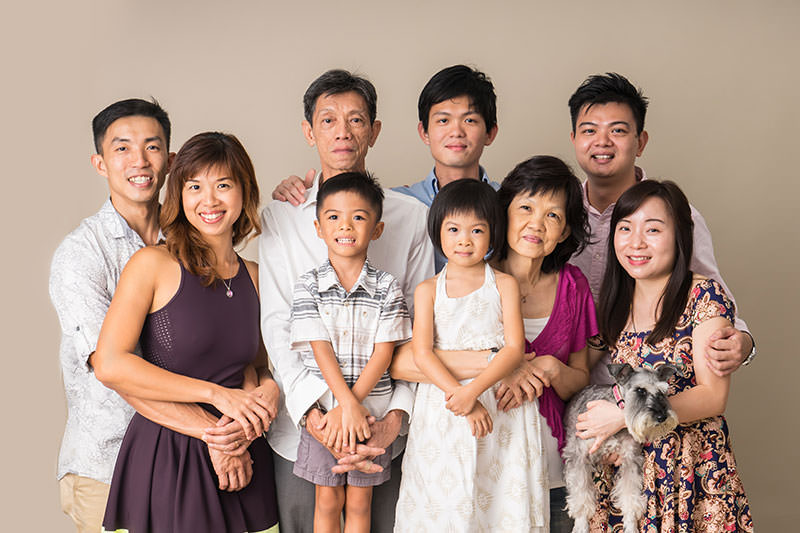 Family and Graduation Photography Singapore