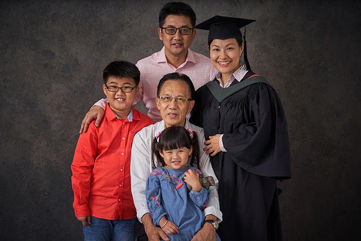 Studio Graduation and Family Portrait