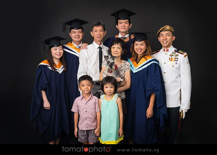 Graduation Portrait Studio Singapore