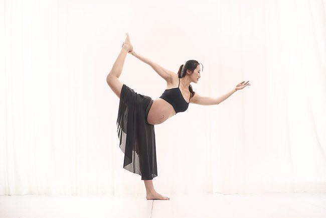 Jasmine YogaLab Maternity Poses