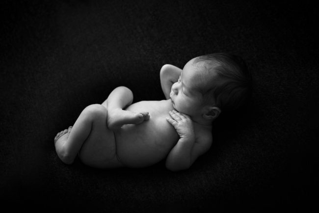 Newborn Black and White