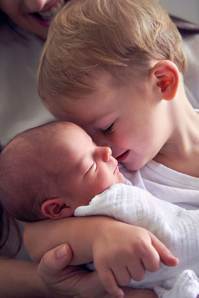 Baby and Brother Photo Shoot