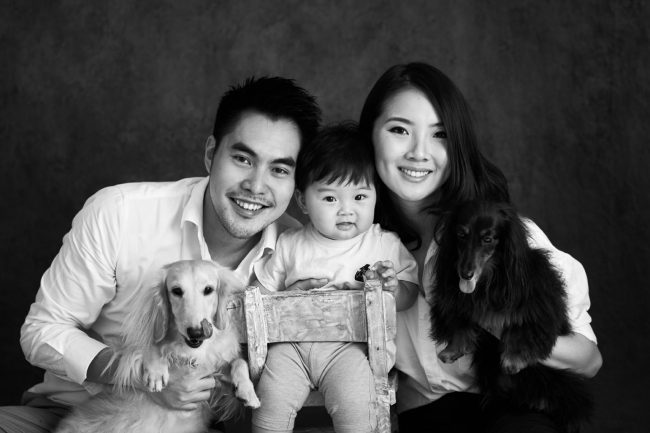 Pets and Family Photoshoot
