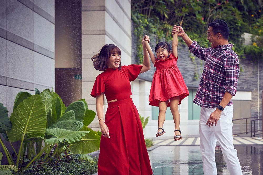Ritz Carlton Family Staycation Family Photoshoot