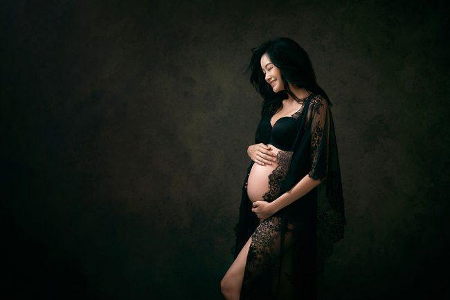 Sheila Sim Pregnancy Photo