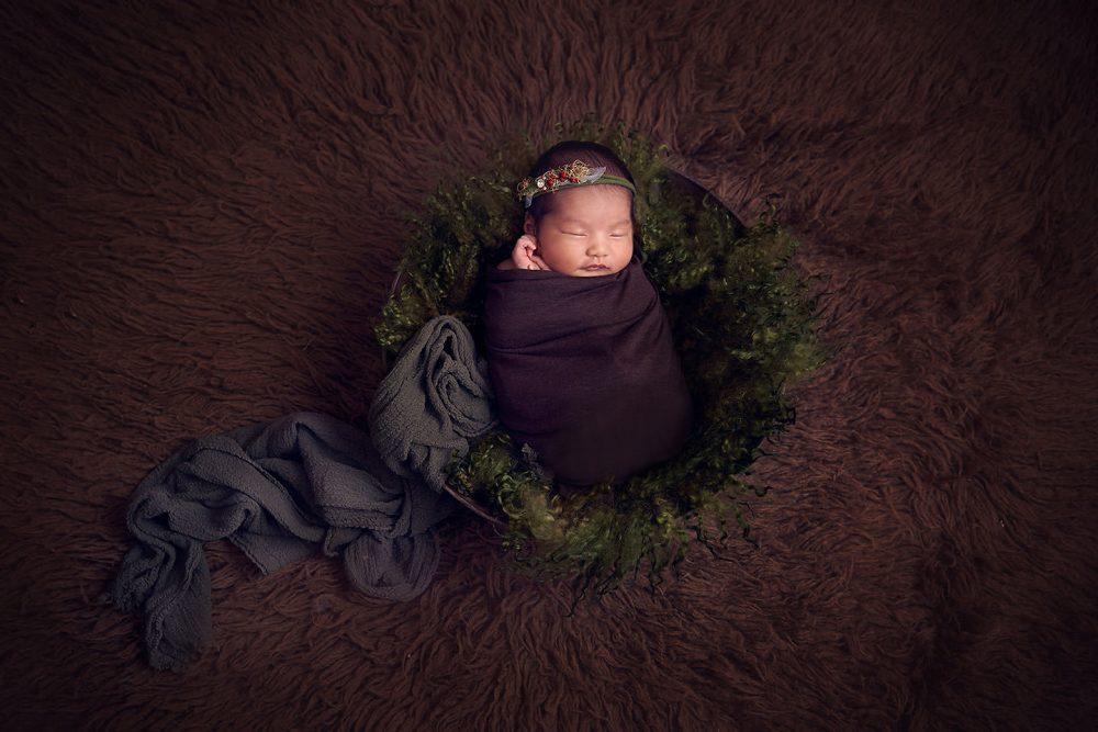 Singapore Theme Newborn Photo shoot