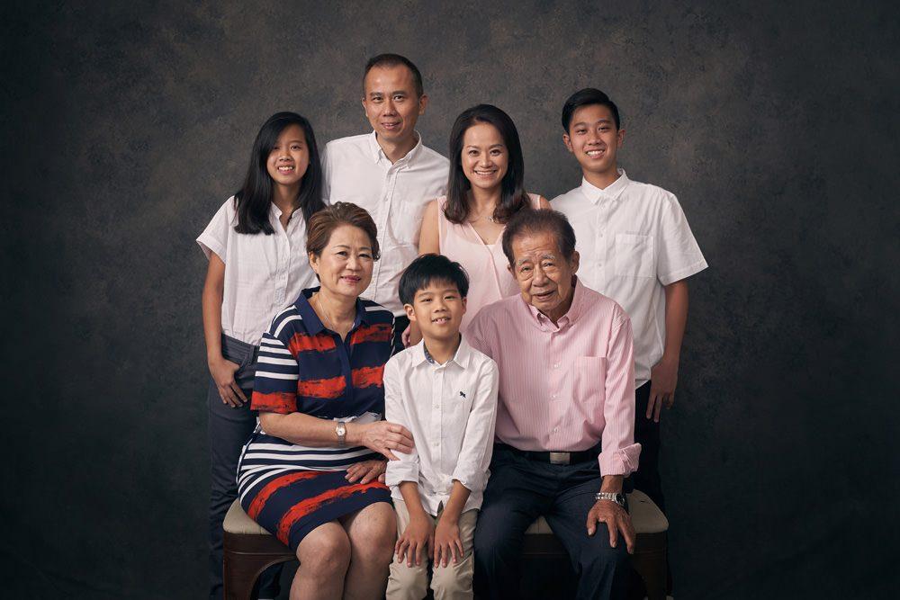 Studio Family Photoshoot
