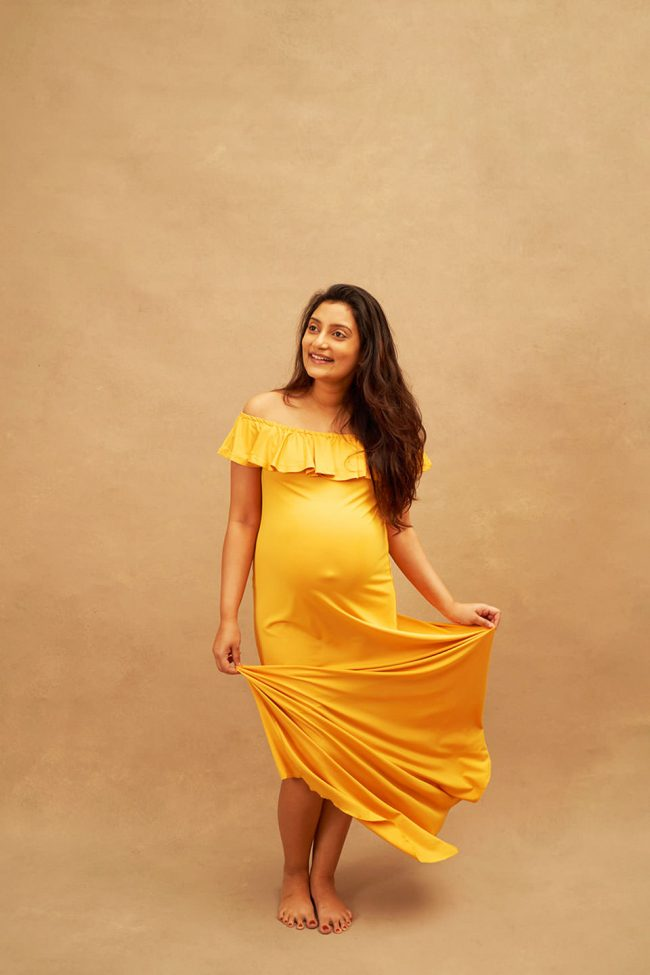 Studio Maternity Photo Shoot Singapore