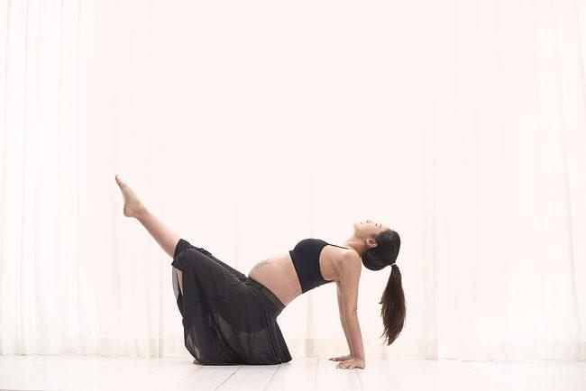 Yoga Maternity Poses