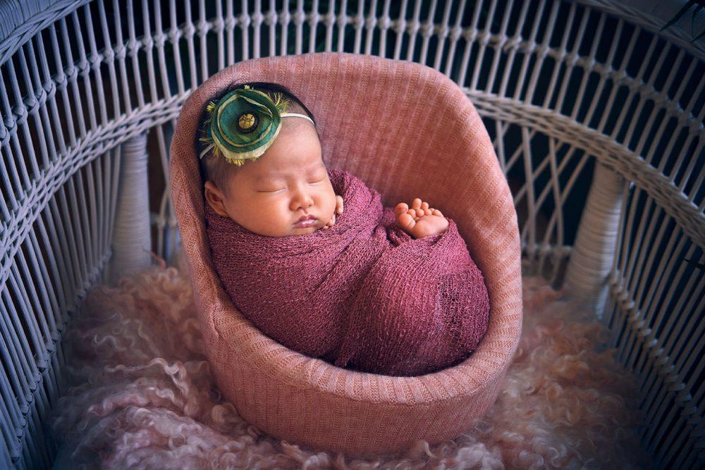 newborn baby girl photoshoot sg