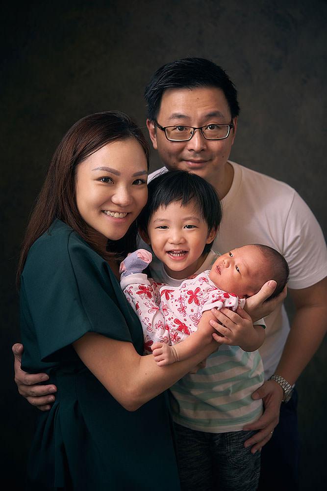 Family with Newborn Photo Shoot