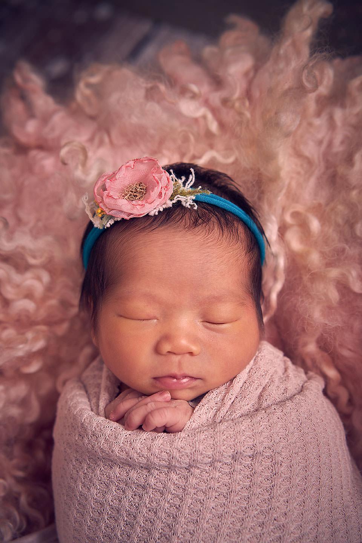 sg newborn baby girl photo shoot