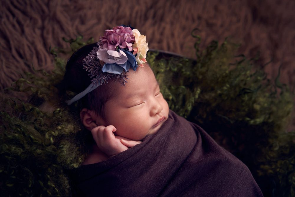 sg theme newborn photoshoot
